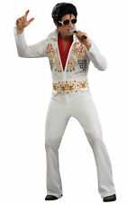 Elvis 1950s 60s Icon King of Rock and Roll Licensed Adult Mens Costume