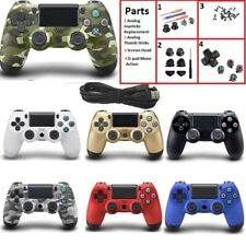 USB Wired Gamepad For Playstation Sony PS4 Controller Lot Part Analog joystick