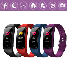Waterproof Smart Band bracelet Blood pressure Heart rate monitor For iOS Android