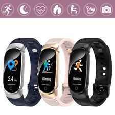 New QW16 Smart Watch Blood pressure  Heart rate monitor Fitness For iOS Android