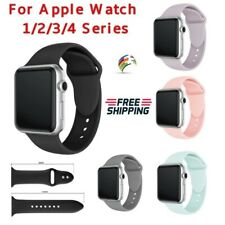Sport Silicon Watch Band Strap For Apple Watch Series 4 3 2 1 40mm 44mm 42mm