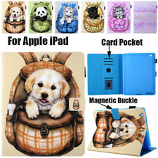 Smart Case PU Leather Stand Wallet Cover For iPad Mini 1 2 3 4 5 Pro Air 10.5