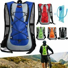 Hiking Camping Cycling Hydration Pack Sport Backpack Bag + 2L Water Bladder Bag