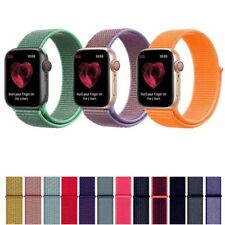 Sports Nylon Strap for Apple Watch Band 40mm 44mm Strap For iWatch Series 1 2 3