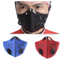 Cycling Mask Anti Pollution Breathable Running Exercise Face Protection Filter