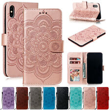For iPhone XS Max Case XR 7 Plus 8 Magnetic Leather Flip Card Wallet Stand Cover