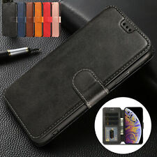 For iPhone XS Max Case 6 7 Plus 8+ XR Luxury Magnetic Leather Wallet Stand Cover