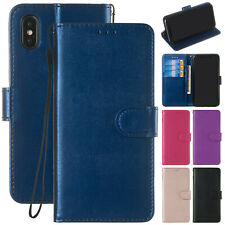 For iPhone 8 Plus Case X 7 6 XS Max XR Luxury Magnetic Card Wallet Leather Cover