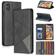 For iPhone XR Case 6s 7 8 XS Max Luxury Magnetic Leather Card Wallet Stand Cover