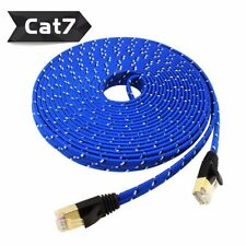 Cat7 Ethernet Cable RJ45 LAN Network Patch Cord For PC Laptop 10Gbps LOT 2M 3M