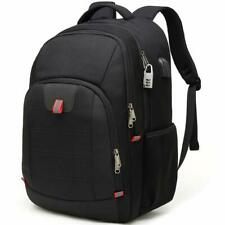 New School Anti-Theft Backpack Business Travel Laptop Bag with USB Charging Port