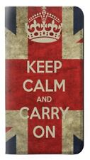 W0674 Keep Calm and Carry On Flip Case for IPHONE Samsung ETC
