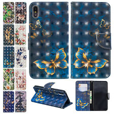 For iPhone XS Max Case XR X 8+ 7 Magnetic Leather Card Holder Stand Wallet Cover