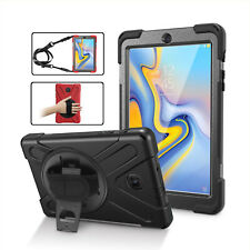 For Samsung Galaxy Tab A 8.0 T387 Shockproof Defender Armor Rotating Stand Case