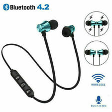 Bluetooth Sports In-Ear Wireless Earphones Stereo Headphones Headsets w/ Mic F