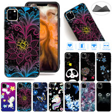 For iPhone 11 Pro Max 2019 Patterned Shockproof Rubber Slim Soft TPU Case Cover