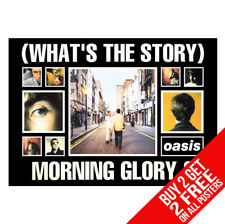 Oasis (Whats The Story) Morning Glory Poster A4 A3 Größe - 2 Kaufen Jedem 2 Free