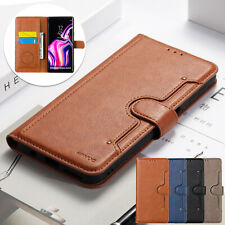 For Samsung S9 Plus Case S8 S10e Luxury Wallet Leather Magnetic Cover Card Slot