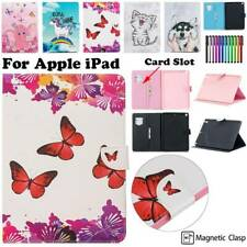 Synthetic Leather Smart Sleep Case Cover For iPad 2 3 4 5 6 Air Pro 9.7 11 Mini