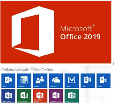 MS Office 2019 Pro Professional Plus 1 PC Produkt Key 32 64 Bit ESD Download
