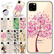 For iPhone 11 Case 11 Pro Max Patterned Soft TPU Silicone Ultra Slim Back Cover