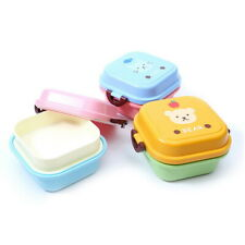 Kids Cute Portable Cartoon Lunch Box Food Fruit Container Storage Box Picni S7T1