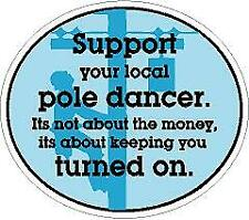 Support Your Local Economy Color Sticker CS210