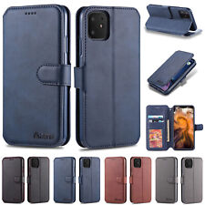 For iPhone 11 Pro Max Case XR 7 8 Plus Luxury Magnetic Leather Card Wallet Cover