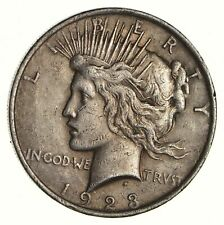 Early - 1923 - Peace Silver Dollar - 90% US Coin *856