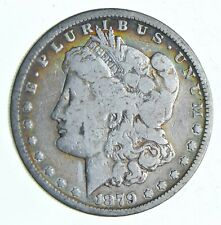 Early 1879-S Morgan Silver Dollar - 90% US Coin *072