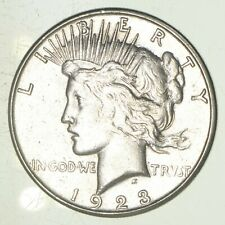 Early - 1923-S - Peace Silver Dollar - 90% US Coin *116