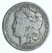 Early 1879-S Morgan Silver Dollar - 90% US Coin *084