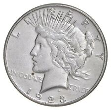 Early - 1923-S - Peace Silver Dollar - 90% US Coin *920