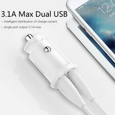 Mini USB Car Charger For Mobile Phone Tablet GPS Fast Charge