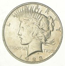Early - 1923 - Peace Silver Dollar - 90% US Coin *897
