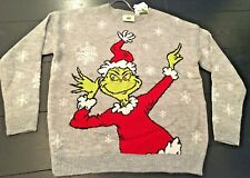 Dr.suess The Grinch Sequin Christmas Jumper For Girls Kids From Primark