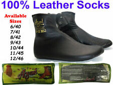 NEW UNISEX HALF LEATHER SOCKS FOOT CARE BEST FOR HEEL PAIN PROTECTION HALF MOZAY