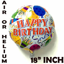 18inch Happy Birthday Round Celebration Party Decoration Foil Helium Balloon