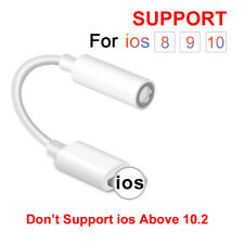 Headphone Adapter For All iPhone 7 8 X XR XS For Lightning To 3.5mm AUX Jack Cab