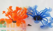Aquarium Fish Tank Silicone Sea Anemone Ornament SH599