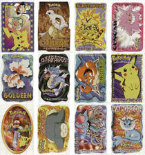 NEW RETIRED 1999 NINTENDO SET 12 DIFFERENT MINI POKEMON STICKERS YOU PICK ONE!