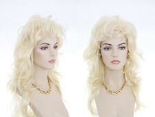 Long Layered Blonde Brunette Red Wavy Showgirl Style Glamorous Wigs