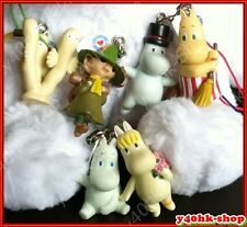 Moomin valley figure  for Mobile Phone bag keyring Charms