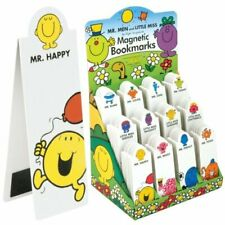 Mr Men and Little Miss Magnetic BOOKMARKS Mr Cool Clever Bump Funny Happy etc...