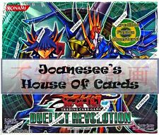 Yu-gi-oh Duelist Revolution Rares Single or Playsets Mint Deck Card Selection