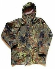 German Army Issue Winter Goretex Flecktarn parka With Removable Liner