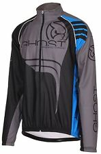 GHOST Bikes Wind Jacket Windjacke black/blue/grey, ehem. UVP 99,90€