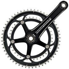 Campagnolo Veloce 2008 Ultra Torque 10 Speed Chainset 39/53 All Sizes Black