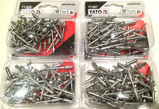 Yato professional blind rivets pop rivets aluminium diameter 3.2mm 4.0mm 4.8mm