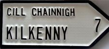 CHOOSE your Co KILKENNY Irish Town old style ROAD SIGN - Handpainted in Ireland